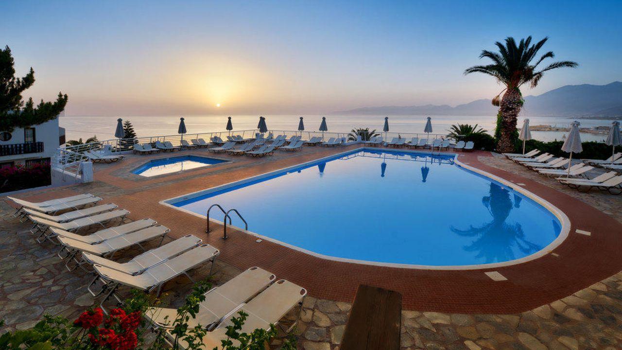 1 Woche Kreta Im Schonen 4 Sterne Hotel All Inclusive Und Flugen Fur